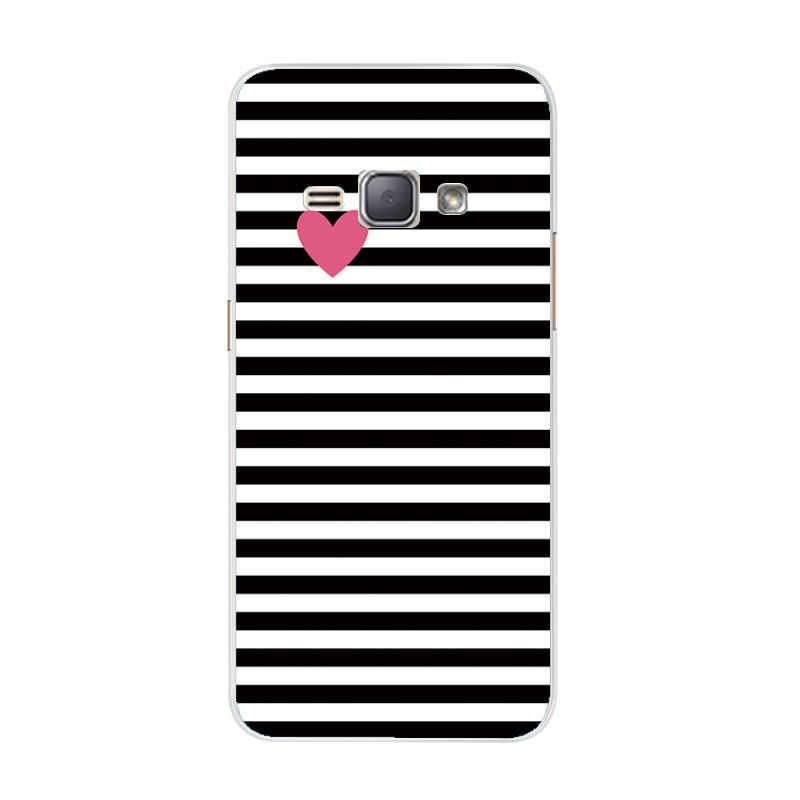 Silikon TPU Case untuk Samsung Galaxy J1 6 2016 Lembut Transparan Case J120 J120F J120H Kembali Menutupi untuk Samsung J1 2016 Telepon Kasus