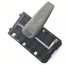 Clip holds 6 x AA Alkaline Cell for walkie talkie BP-263 BP263 IC-F3103D F3001 F4001 T70A
