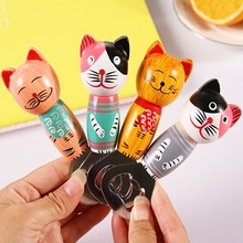 BF040 Creative cartoon cat style wood bottle opener Beer 10.5*4cm free shipping