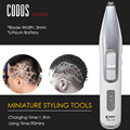 Codos Professional Electric Lettering Hair Trimmer for Men Child Rechargeable Carving Hair Clipper Salon Barber Styling Tools