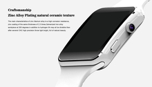 2017 Nuevo Reloj Inteligente Bluetooth X6 Smartwatch Reloj Deportivo para Apple IPhone 7 Android Teléfono con Cámara FM Apoyo SIM tarjeta