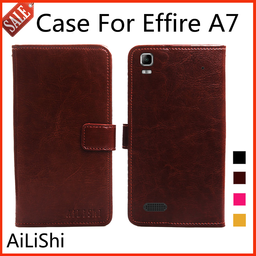 Color book effire - Ailishi Flip Leather Case For Effire A7 Case New Arrive Protective Cover Phone Bag Wallet 4