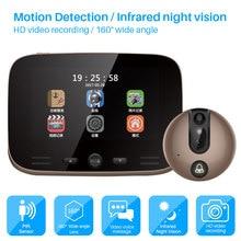 Video Doorbell Camera 4.3 Inch Digital Display Door bell Pee