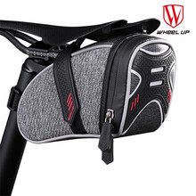 WHEEL UP Waterproof Bicycle Bag Bike Storage Bag Rear Seat Pouch Quakeproof Cycling Saddle Seatpost Tail