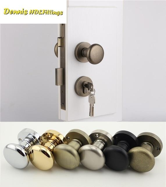 Charmant Premintehdw American Style Mortise Interior Door Lock Set Reversal Rosette  Kit 35 50mm Door Thickness