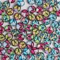 12 мм смешанного стиля бабочка круглый стекло кабошон купол ювелирные изделия поиск камея привесные установки 50 шт./лот K02982