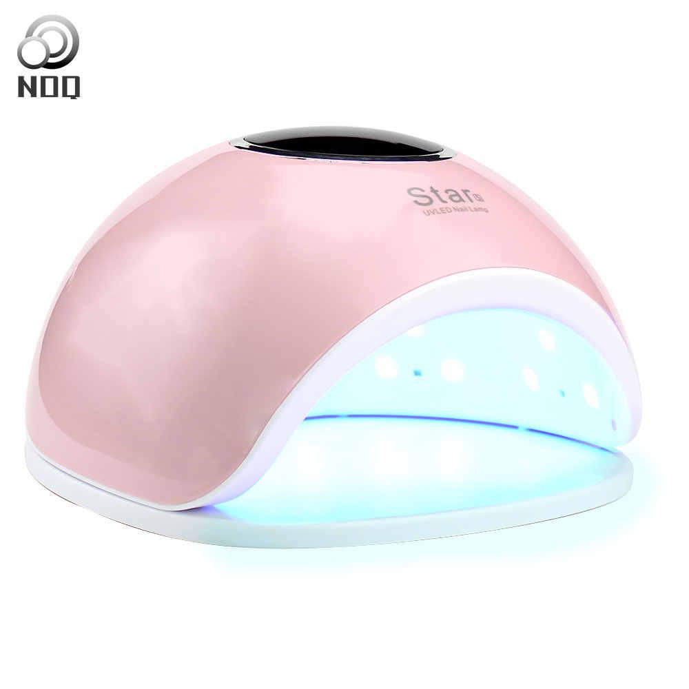 Max66W 33 נוריות נייל מייבש Led מנורת UV לציפורניים מניקור כל ג 'ל פולני ריפוי Uf מנורת נייל מכונת קרח מנורות שמש אור