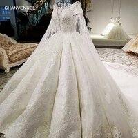 LS07949 prawdziwy obraz naprawiono odpinany długa peleryna wycięciem lace up powrót biały kolor duże skir 2018 nowe popularne suknia ślubna 2018