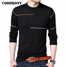 COODRONY Cashmere Wool Sweater Men Brand Clothing 2018 Autumn Winter New Arrival Slim Warm Sweaters O-Neck Pullover Men Top 7137