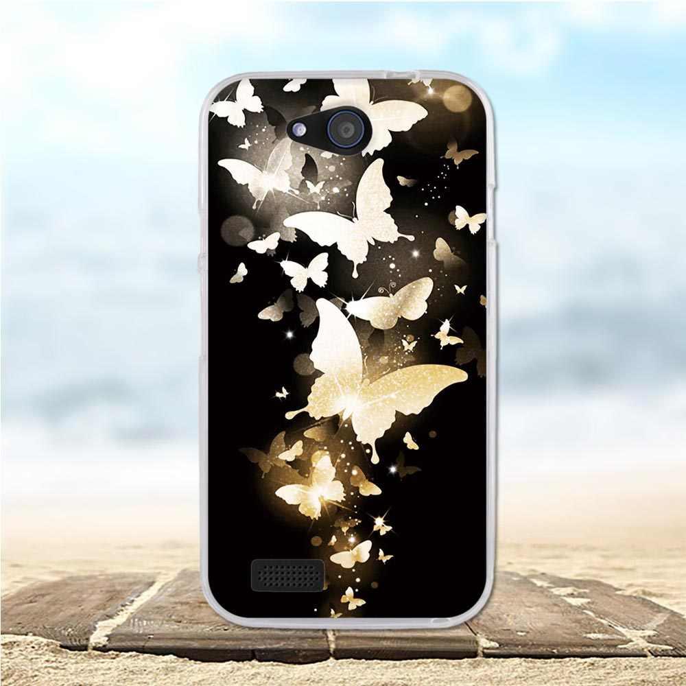 Para zte q lux lâmina 4g caso capa de silicone macio tpu volta escudo para zte q lux 4g a430 caso para zte lâmina q lux 4g 3g a430 casos