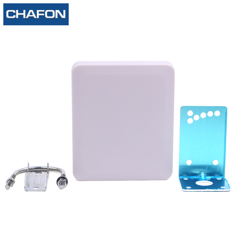 CHAFON UHF 5dbi rfid antenna 865-868mhz / 902-928mhz passive circular polarization with SMA connector for warehouse management 865 868mhz or 902 928mhz customized abs material waterproof linear circular polarization high gain 12dbi rfid uhf antenna