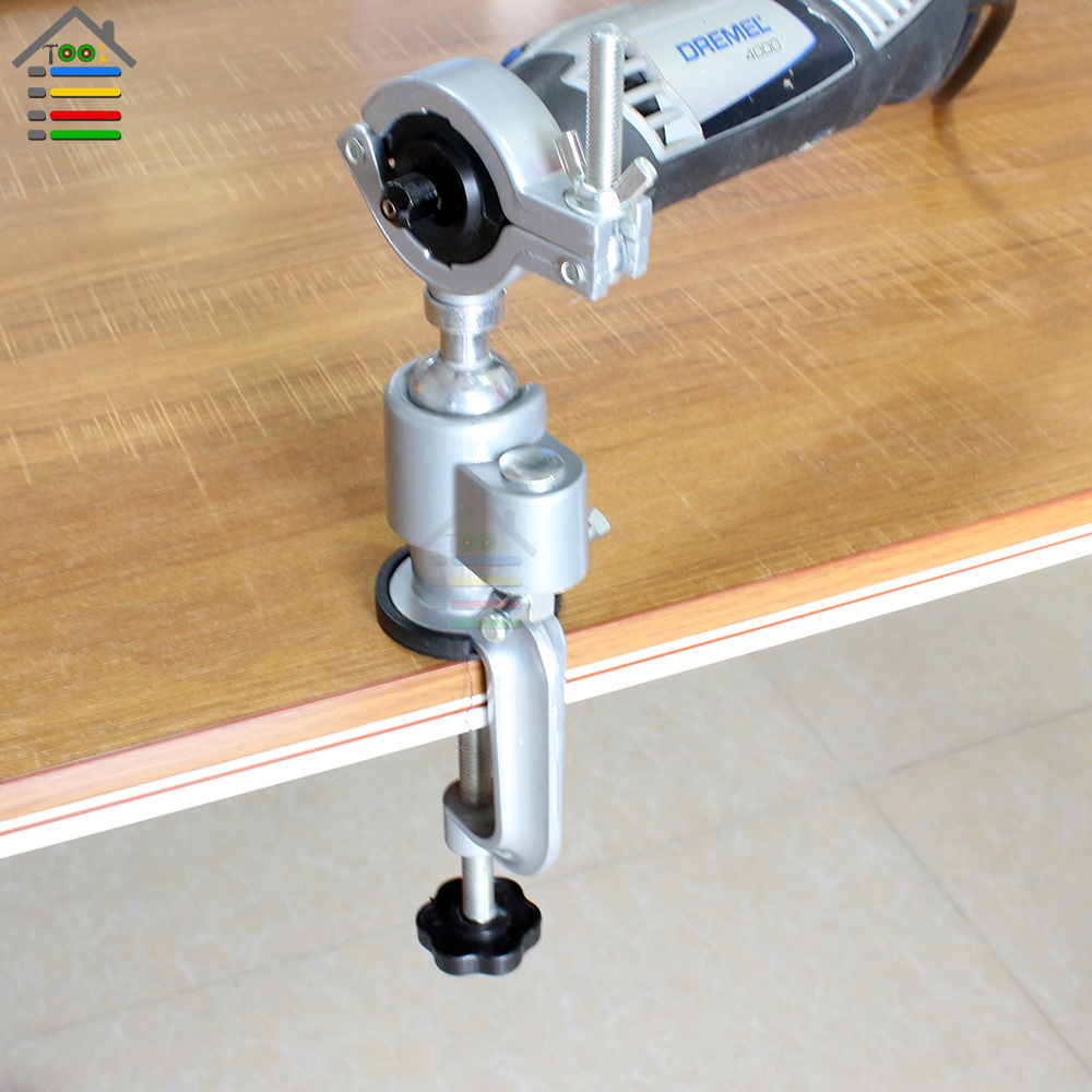 Universal vise clamp on bench vises vice grinder holder mini electric drill stand make the grinder