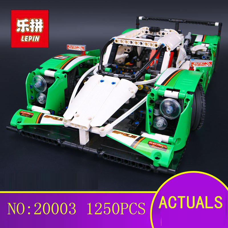 IN STOCK NEW 1249PCS LEPIN 20003 Technic Series The 24 hours Race Car Building Assembled Blocks Bricks Enlighten Toy 42039 цена