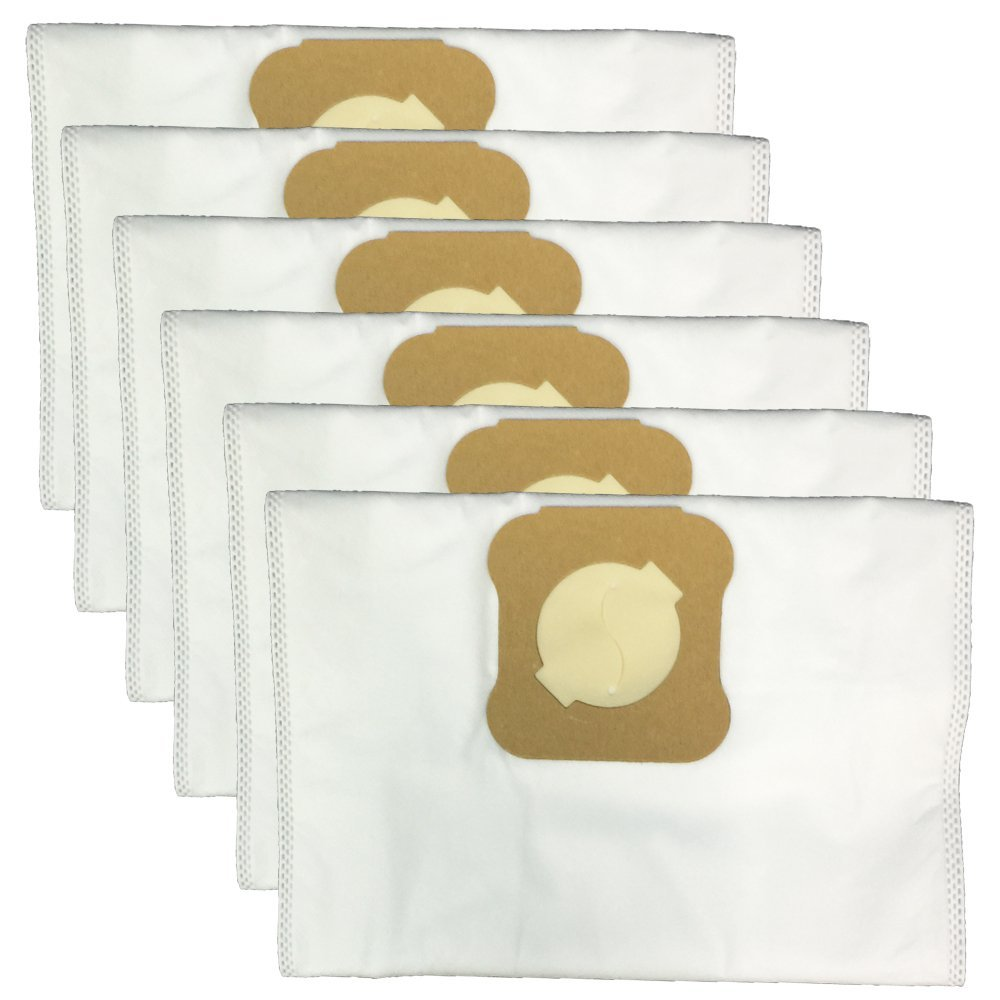6Pcs Microfiber Dust Bags For KIRBY G-Series G3 G4 G5 G6 G7 Suitable for Kirby Universal Hepa Cloth Replacement Kirby Vacuum Bag 6 pack of vacuum cleaner bag to fit kirby generation synthetic g3 g4 g5 g6 g7 2001 diamond sentria 2000 ultimate g kirby