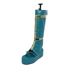 Touken Ranbu Cosplay Tsurumaru Kuninaga dark cyan shoes shoe boot boots High Quality Leather Custom touken ranbu messenger bag kashuukiyomitsu mikazuki munechika tsurumaru kuninaga kogitsunemaru cosplay handbag large capacity