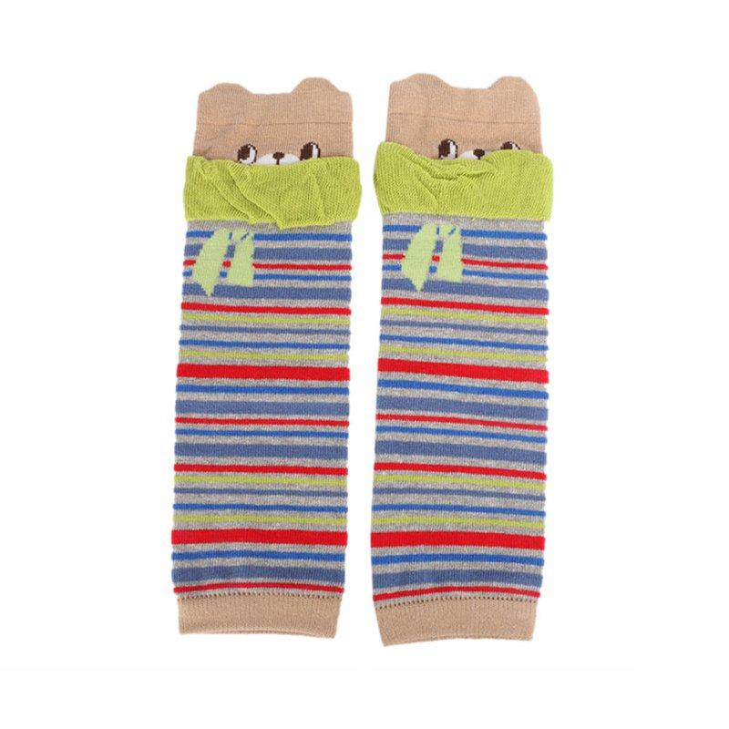 Fashion Kids Baby Leg Warmers Kneepads Warm Cotton 1 Pairs Cute Bear