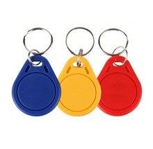(50 pcs/lot) 13.56Mhz RFID UID Changeable keytag Block 0 Writable Rewritable Proximity Keyfob Access Card Copy Clone Duplicate