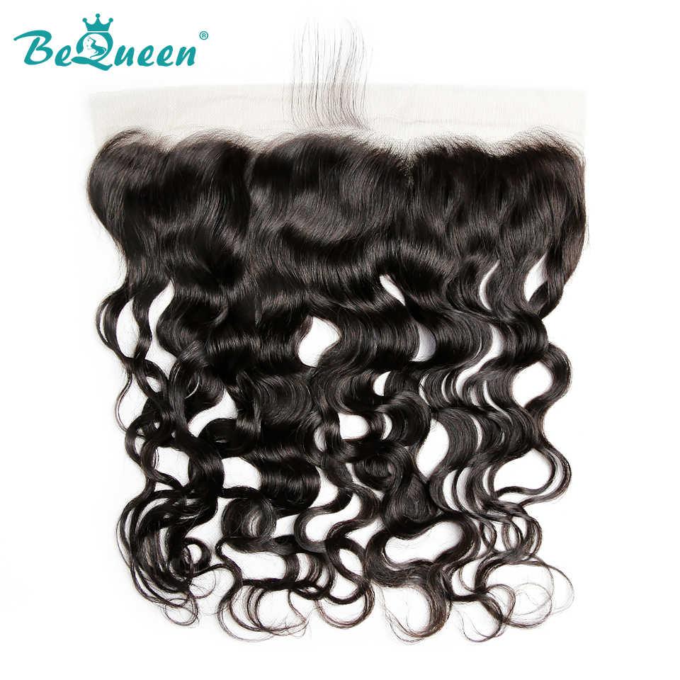 Bequeen необработанные бразильские виргинские волосы водяная волна, 4 пучка s с фронтальной, 50 грамм в пучке натурального цвета Бесплатная доставка
