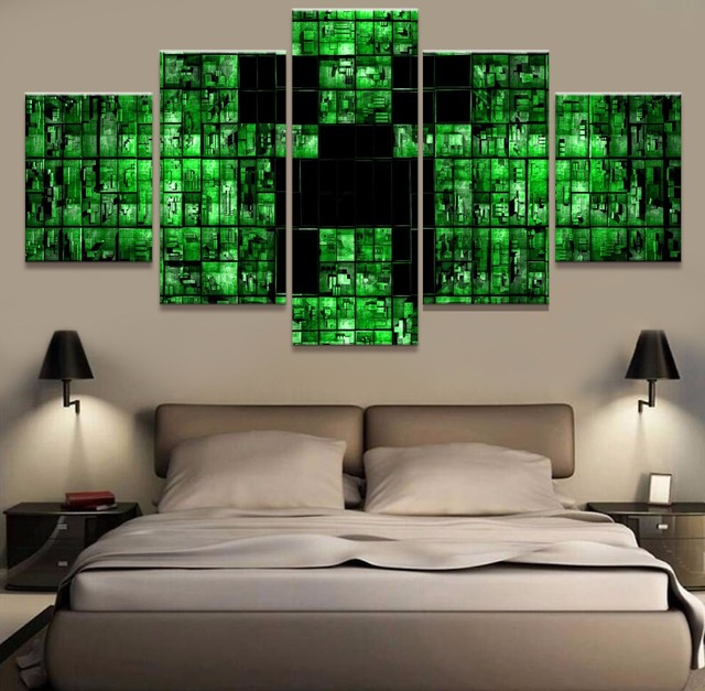 Modern Canvas Painting Frame HD Printed Wall Art Abstract Pictures 5 ...