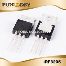 100pcs IRF3205 TO 220 F3205 TO220 IRF3205PBF MOSFET 55V 110A 200W nuovo originale di trasporto libero IC