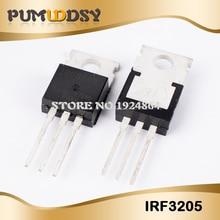 100pcs IRF3205 ZU 220 F3205 TO220 IRF3205PBF MOSFET 55V 110A 200W neue original freies verschiffen IC