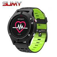 Slimy Smart Watch NO 1 F5 Heart Rate Monitor GPS Multi Sport Mode OLED Altimeter Bluetooth
