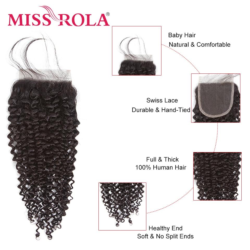 Mlle Rola Cheveux Pré-colorés Péruvienne Crépus Bouclés 3 - Cheveux humains (noir) - Photo 6