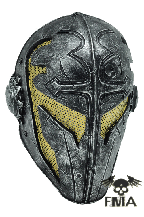 FMA Wire Mesh Templar Mask wargame gear helmet Mask outdoor green paintball airsoft wire mesh full face protection templar mask cosplay wargame gear helmet free shipping