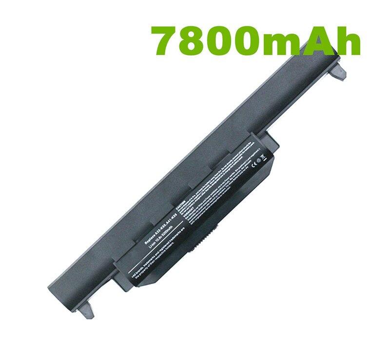 7800mah Laptop Battery For Asus A32 K55 A33-K55 A41-K55 A45 A55 A75 K45 K55 K75 X45 X55 X75 R400 R500 R700 U57 Series