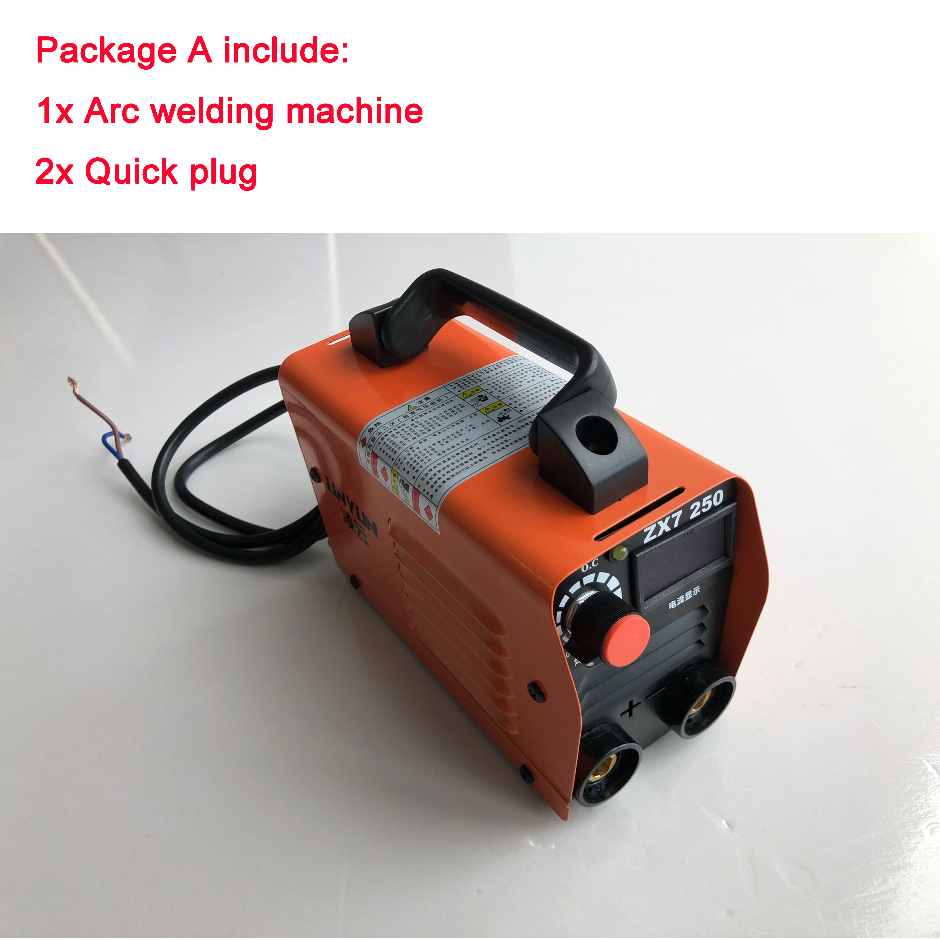 RU Delivery 220V Welding Machine Compact Mini MMA Welder Inverter Welding Semiautomatic