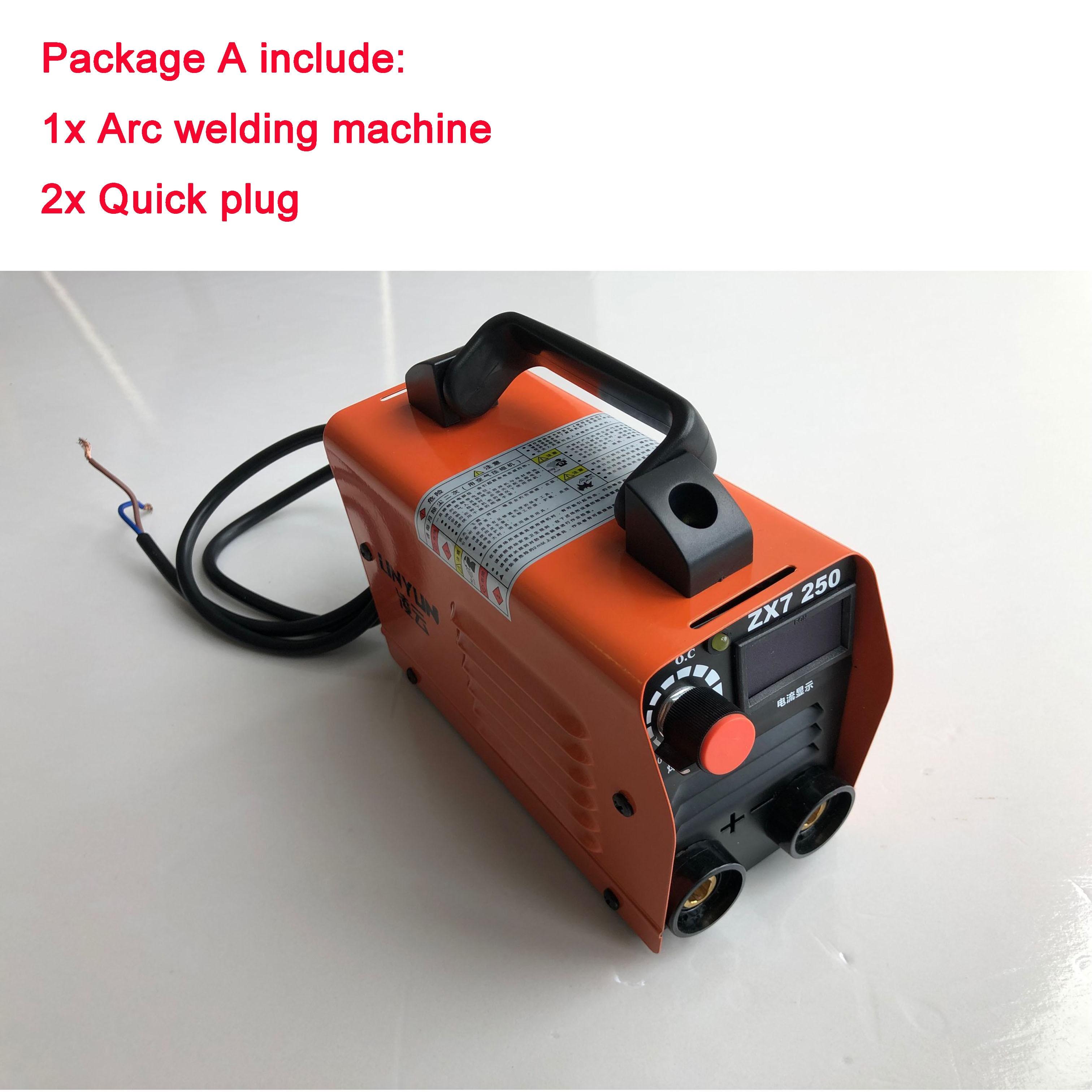 RU Delivery 220V Welding Machine Compact Mini MMA Welder Inverter Welding Semiautomatic