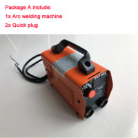 RU Delivery 250A 110 250V Welding Machine Compact Mini MMA Welder Inverter welding semiautomatic