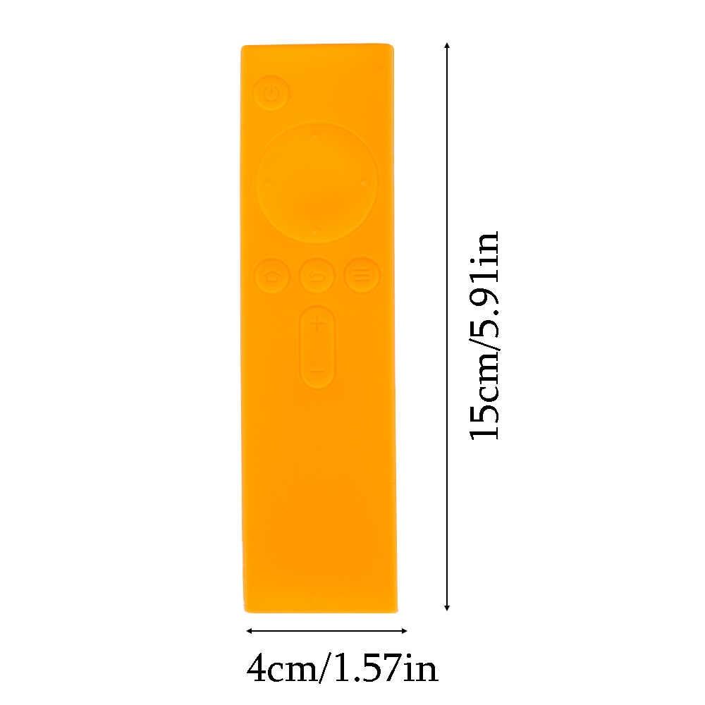 1PC Hot Soft Silicone Rubber TPU Remote Control Covers Protective Case Anti-Slip Rubber Dust Covers for Xiaomi TV Mi Box