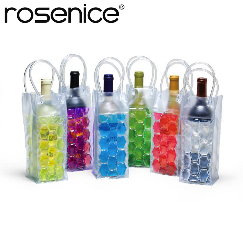 Us 4 25 Wine Bottle Freezer Bag Chilling Cooler Ice Beer Cooling Gel Holder Carrier In Coolers Chillers From Home Garden On Aliexpress