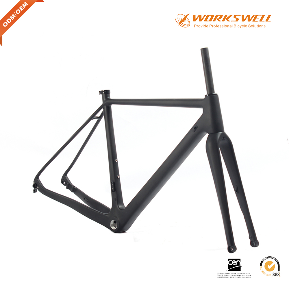 2017 Workswell Cyclocross Frame Carbon Di2 and Machine Compatible ...