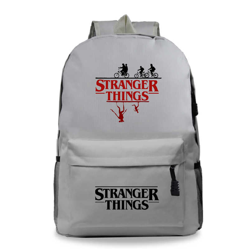 Plecak Sac a Dos Tassen Fashion Anime Mochila stranger things Backpack Men 4 Girls Laptop back to school bag Travel