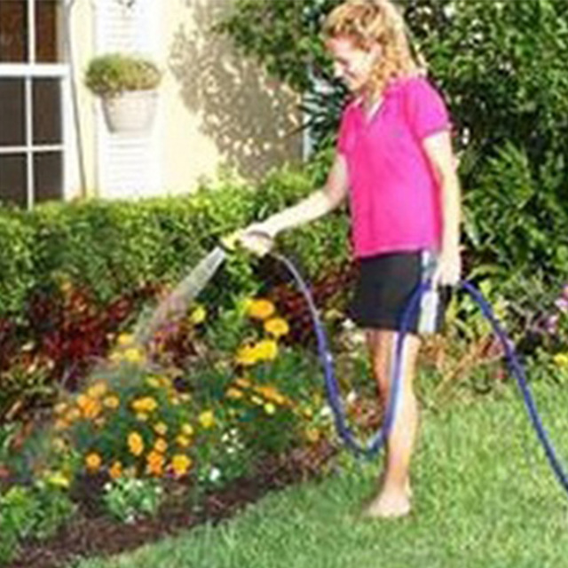 10/18m 25FT-200FT Expandable Magic Flexible Garden Water Hose Green Hose Plastic Hoses Pipe With Spray Gun To Watering
