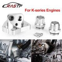 Rastp-radiador do motor apto para k20 k24 componentes de refrigeração do motor do carro giratória pescoço termostato caixas k series RS-OSA010