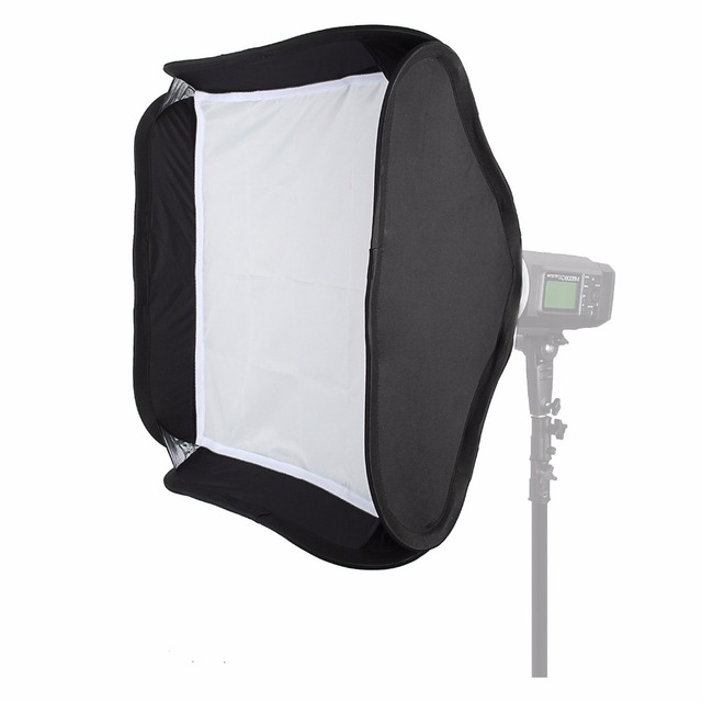 Godox 40 x 40cm/60 x60cm/80 x 80cm Collapsible Diffuser Softbox for S-type Bracket fit Bowens Elinchrom Mount