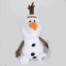 Snow Queen plush toy 30CM Olaf Stuffed Toys Kids Birthday Gift stuffed animals education plush toys doll