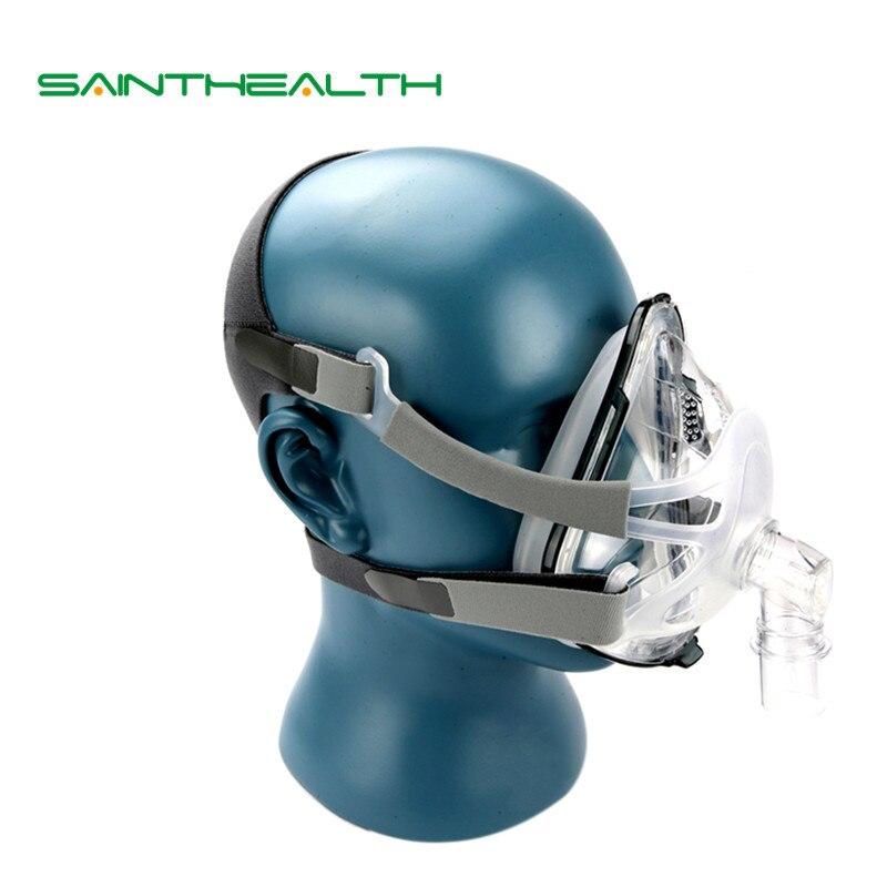 F1A полный маска 03 с головные уборы для CPAP Машина сна здравоохранения Размеры SML храп терапии Интерфейс шланга проведения сумка