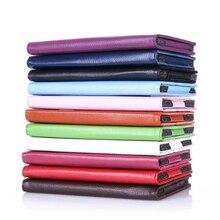 Ocube 2-Folder Grano Del Lichí de LA PU Casos de La Cubierta de Cuero Protectora Para Lenovo Tab 3 Tab3 7.0 710 710L Esencial 710F Tablet