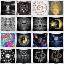 Fashion Mixture styles tapestries wall hanging tapestry home decoration tapiz pared 1500mm*1500mm