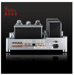 Image 3 - Yaqin MS 300C MC 300C Klasse Een end 300B vacuüm buis klep HiFi eindversterker met afstandsbediening