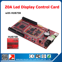 China manufacturer Kaler led display control card Z0A 320*1024pixel video card for indoor outdoor led video display asynchronous