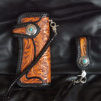Натуральная кожа кошельки изысканный Hasp резьба плетеная веревка сумка Кошельки Для женщин Для мужчин длинные клатч растительного дубления