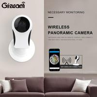 Cewaal Wireless CCTV Fisheye WiFi IP Mini Camera P2P IR Night Vision 2 Way Audio Camera