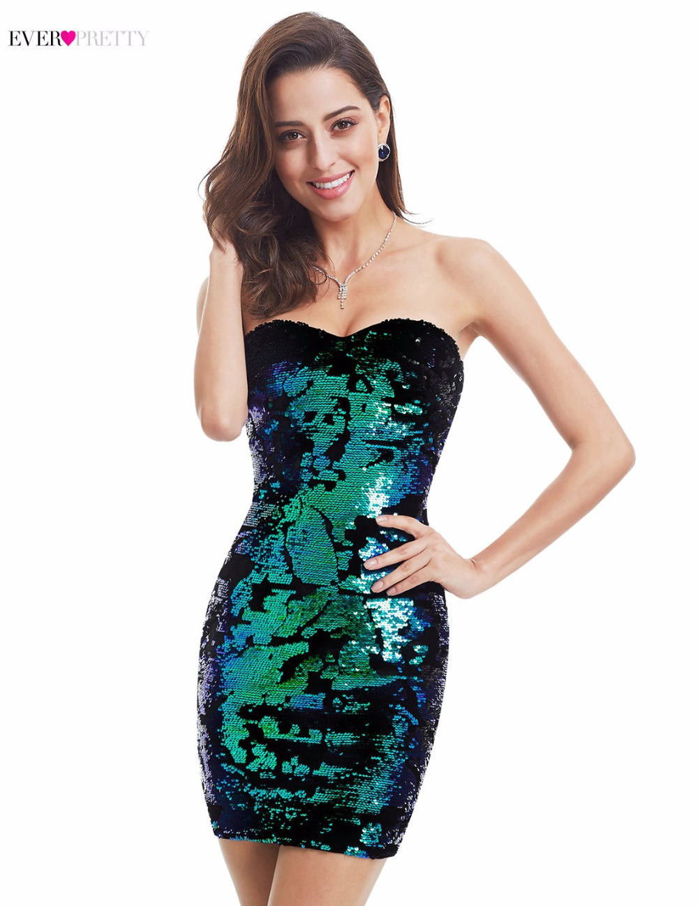 Clearance Sale] Women\'s Sexy Short Sequin Cocktail Dresses Ever ...