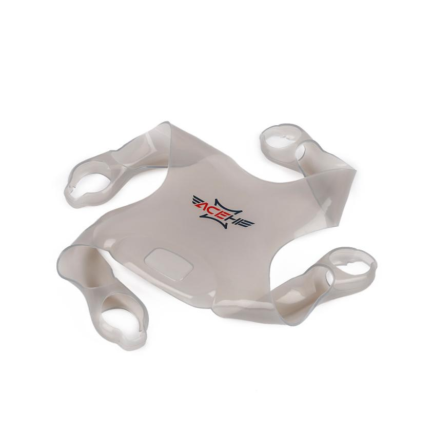 New Clear & Gray ACEHE Silicone Fuselage Protective Cover Case FOR DJI Phantom 4 Protective Cover RC toy Parts