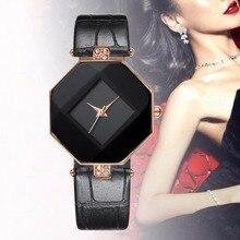 נשים אופנה חדשות שעונים ריינסטון מעוטר זול באיכות גבוהה שעון יד עור שעונים תצוגה אנלוגית קוורץ שעון יד